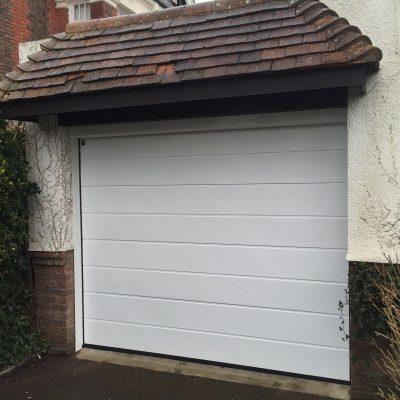 Sectional Garage Door Single